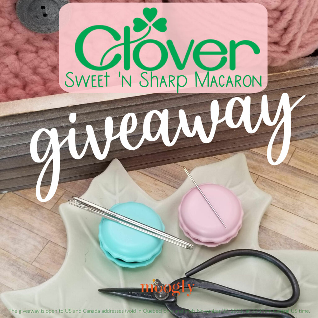 Clover Sharp 'n Sweet Macaron Giveaway on Moogly