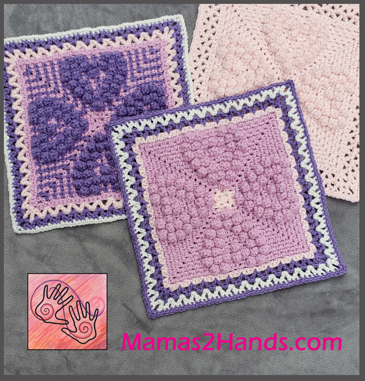Touch of Love Afghan Square by Andee Graves